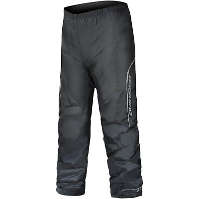 NEW DriRider Thunderwear 2 Wet Weather Rain Waterproof Black Motorcycle Pants