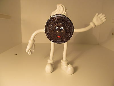 Oreo Cookie Bendable Toy Figurine Collectible From Nabisco New