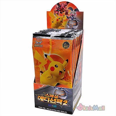 Pokemon Card Game TCG XY Special Edition Pack II Korean 1 Booster Box Display