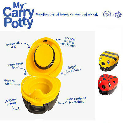 My Carry Potty for Potty Training - Bumblebee/Ladybird