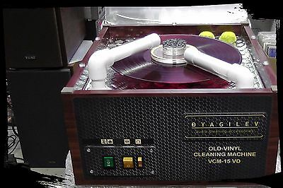 OLD-Vinyl Record Cleaning Machine VCM - VD (15 rpm)