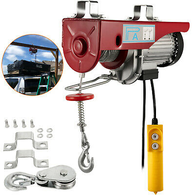 Warrior Power Products 400kg 240v Electric Hoist Scaffolding Winch Workshop