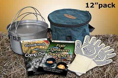 12 inch or 9 Quart Camp Oven Pack
