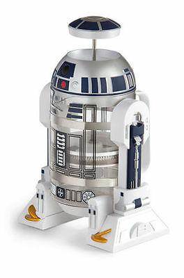 NEW Star Wars R2-D2 Coffee Press, Brews 4 Cups, Perfect Christmas Present- RARE!
