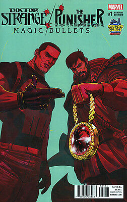 Dr Doctor Strange Punisher Magic Bullets 1 Run The Jewels Midtown Variant Nm
