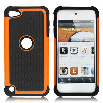 Skin for Apple iPod Touch 4th 5th Gen Hybrid Rugged Rubber Matte Hard Case Cover