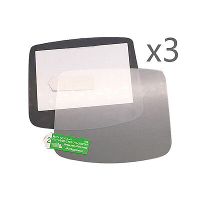 3 PCS HD Screen Protector Film for Nintend Gameboy Advance GBA