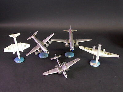 5 Flugzeuge Wiking - WK II - JU52 + DO26 + Corvair + Canberra + Wickers Viscount