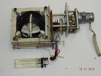 VARIOMETER WITH DRIVING MOTOR. Variable inductor for antenna matching