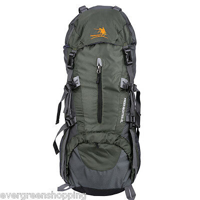 65+5L Large Outdoor Hiking Camping Backpack Rucksack Bag Mountaineering Pack AU