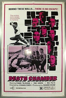 Death Chamber - Shaw Brothers / Fang Ta-Hung - Original Usa 1Sht Movie Poster