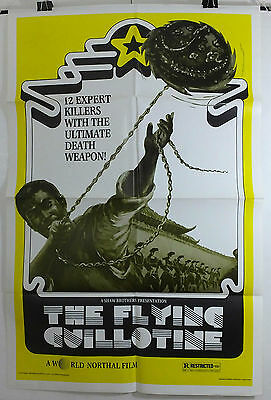 The Flying Guillotine - Shaw Brothers - Original American One Sheet Movie Poster