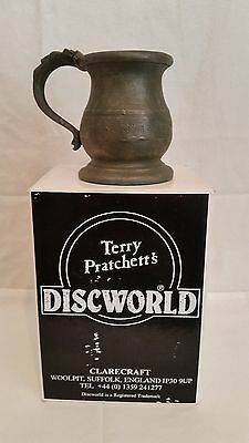 Discworld Clarecraft Figurine - DW21 - Tankard from the Mended Drum - Mint