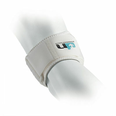 UP One Size White Ultimate Tennis Elbow Competition Support Pain Relief Strap