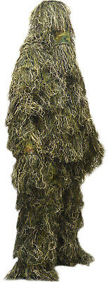 Large 10-12 Years Childrens/Kids Woodland Camo/Camouflage Ghillie Suit