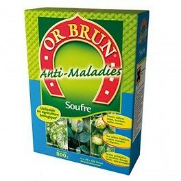 Soufre 800g - Or Brun