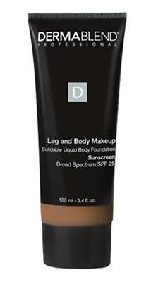 Dermablend Leg and Body Cover with SPF 15 Sunscreen MEDIUM 3.4 fl oz 100 ml)NIB