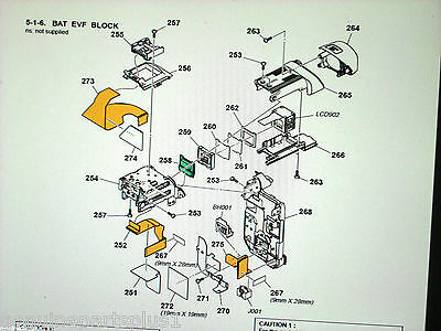 GENUINE  PARTS FOR  SONY DCR-HC42 from $5-$35