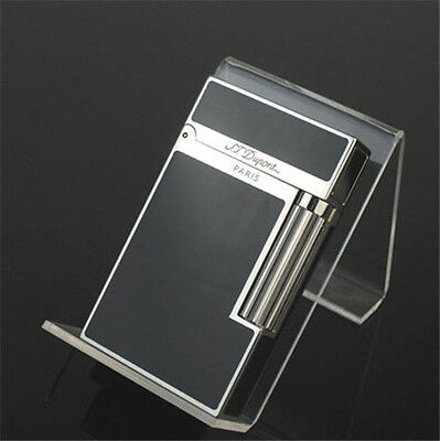In box Bright Sound Hot Silver Dupont lighter S.T Memorial