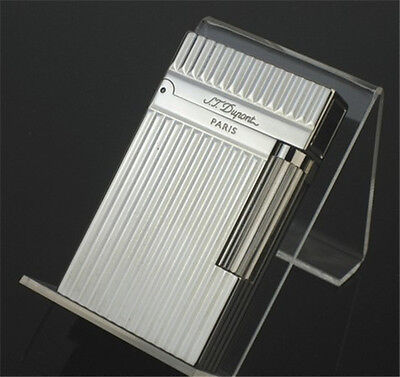 New Bright Sound Dupont lighter Silver Hot in box S.T Memorial