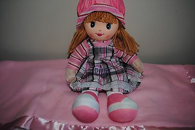 Rag doll 20 inches personalised with Any Name christmas newborn christening gift