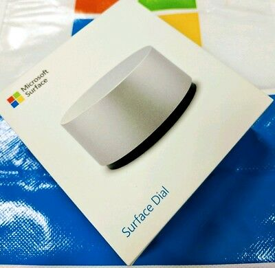 Brand New Microsoft Surface Dial Silver 3D Mouse Radial 4 Studio Book Pro Laptop