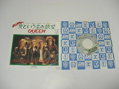 "Queen/ Crazy Little Thing Called Love  7""epjapan"
