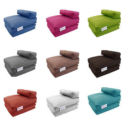 MyLayabout Memory Foam Crumb Single Kids Z Bed /Fold Out Chair/Futon/Mattress
