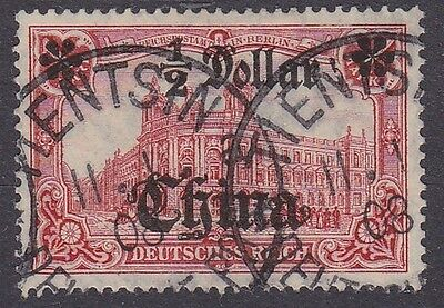 Dt. Post China Mi.-Nr. 44 gest., Mi. 50 €