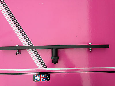 T BAR for disco lighting stands including bolts with built in top hat