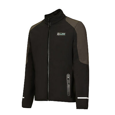 OFFICIAL Mercedes AMG Petronas F1 Team Soft Shell Jacket MENS - NEW