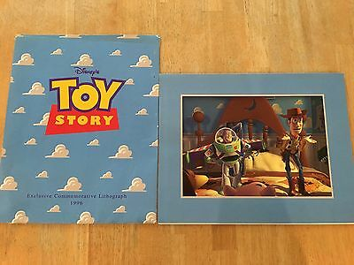 Disney's Toy Story 1996 Exclusive Commemorative Lithograph