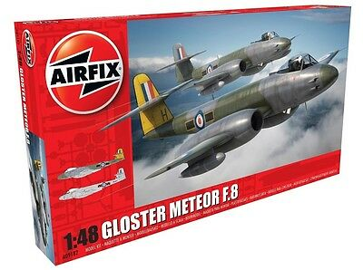 Airfix 1:48 Gloster Meteor F8 - Model Kit