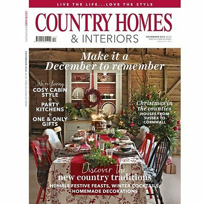 Country Homes And Interiors Magazine - Current December 2016 (New - Unopened)