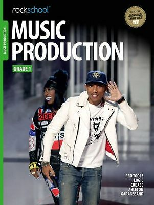 Rockschool Music Production Grade 1 Exam Sheet Music Book Learn How To Producers