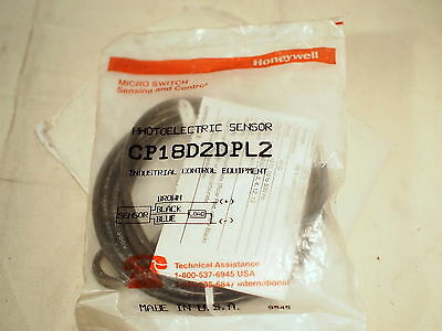 Microswitch Honeywell Cp18D2Dpl2 Photoelectric Sensor (19D2)