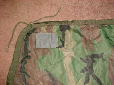 Usgi Military Poncho Liner / Blanket - Green Woodland Camo