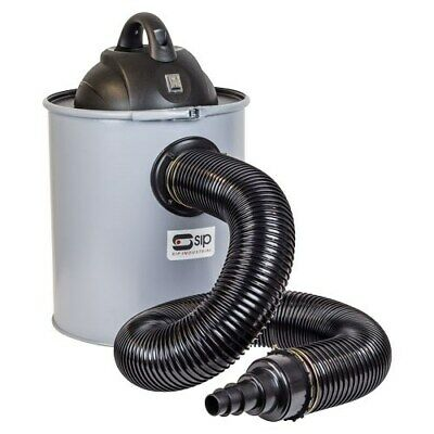 SIP 01929 50 Litre Dust & Chip Collector, With Free Adaptor Set