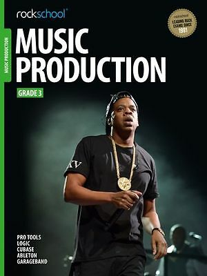 Rockschool Music Production Grade 3 Exam Sheet Music Book Learn How To Producers