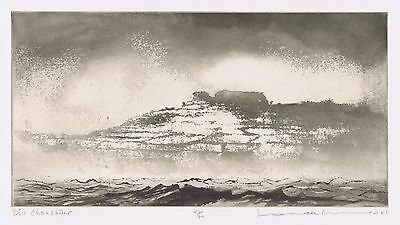 Norman Ackroyd RA Original Etching 2001 pencil signed numbered Edition of 90