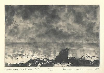 Norman Ackroyd RA Original Etching 1997 pencil signed numbered Edition of 90