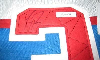 Carey Price Montreal Canadiens 16 NHL Winter Classic Premier Auto Jersey XL COA