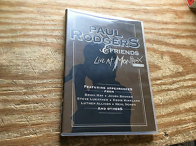 Paul Rodgers & Friends Live At Montreux - DVD Tested!