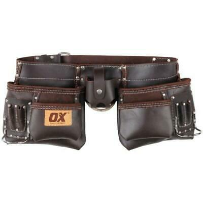 OX Pro Leather Tool Pouch with Belt