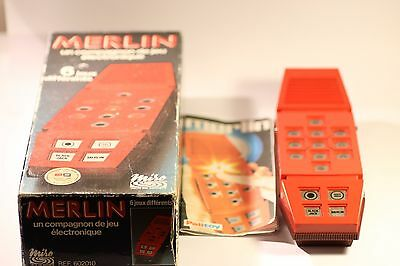 Merlin The Electronic Games Machine By Miso. Vintage. Retro.1979