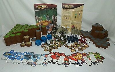 HeroScape Rise of the Valkyrie Master Set First Edition 2004 Nearly Complete