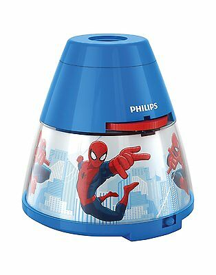 Philips Marvel SpiderMan Children's Night Light Projector 1 x 0.1W  Integrated