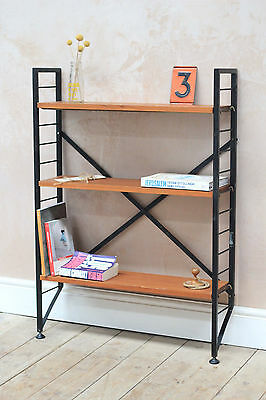 Vintage Retro Mid Century Ladderex String Small Modular Shelving unit • £240.00