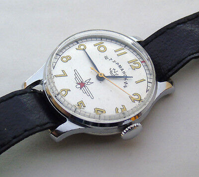 USSR Russian mens' watch SHTURMANSKIE   15 jewels #608