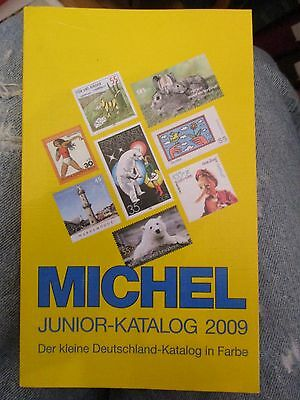 STAMP CATALOGUE MICHEL GERMANY DEUTSCHLAND 2009 all stamps shown in COLOR, NEW